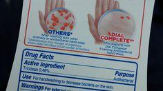 #Savons antibactériens : quatre questions sur le triclosan et le triclocarban, désormais interdits aux Etats-Unis - Franceinfo: Franceinfo…