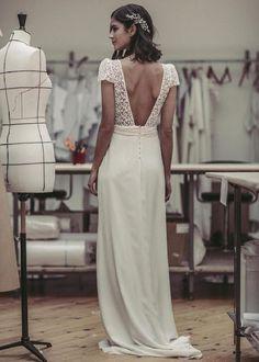 vestidos-de-novia-sencillos-encaje