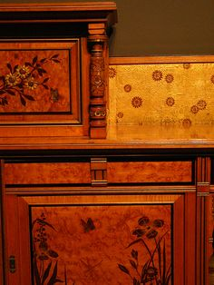 Herter Brothers, beautiful furniture made by hand.