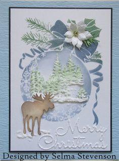 Christmas Moose, Christmas Cards To Make, Christmas Snowflakes, Christmas Baubles, Christmas Design, Xmas Cards, Holiday Cards, Christmas Ornament, Greeting Cards