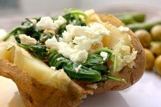 Greek baked Potatoes