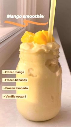50 super Healthy Smoothie recipes from Easy smoothie Recipe - Karluci Fruit Smoothie Recipes, Easy Smoothies, Smoothie Drinks, Diet Drinks, Drink Recipes, Mango Smoothie Healthy, Mango Pineapple Smoothie, Orange Smoothie, Breakfast Smoothie Recipes
