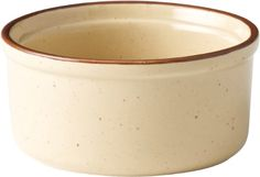 """Traditional Stoneware Crockery - Ramekin 3.75"""" (10cm) (Box of 6) - individual and rustic stoneware for your home Artisan Stoneware Collection http://www.amazon.co.uk/dp/B004BA2P2Q/ref=cm_sw_r_pi_dp_me3-tb0XJYJ5D"""
