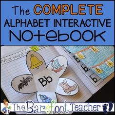 The Complete Alphabet Interactive Notebook: This download bundles both the Letter ID/Handwriting Interactive Notebook Set with the Alphabet Sounds Interactive Notebook Set to make one complete book. Students will practice identifying, sorting,writing both upper and lower case letters, and producing sounds in this fun, engaging, and absolutely adorable Alphabet Interactive Notebook Complete Set.