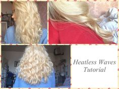 EASY HEATLESS WAVES OVERNIGHT | Hair Tutorial