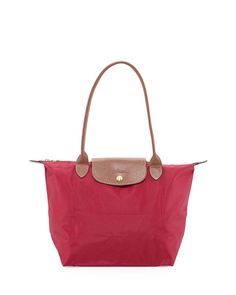 Pin for Later: What to Buy For Your Weekend Babysitter Longchamp Tote Bags Longchamp's handbags ($68-$168) come in plenty of sizes and styles, all great for travel or day-to-day use.