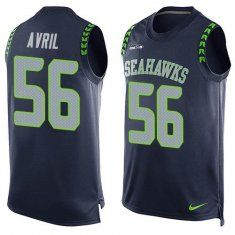 Jerseys NFL Sale - Nike Seahawks #56 Cliff Avril Green Men's Stitched NFL Limited ...