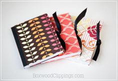 Mini Mod Podge Notebooks