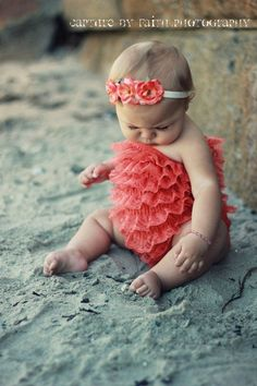 baby outfits, 6 month pictures, cutest babies, ruffl, babi girl