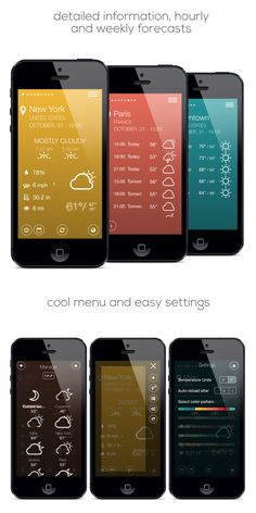 The world needs another weather app like Houston needs another Mexican restaurant. That being said, Tint - Weather App For iOS7 by Giacomo Freddy is pretty slick.