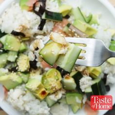 California Roll in a Jar Recipe