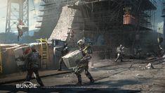 ArtStation - Destiny 2 Cinematics Paintings Bundle, Darek Zabrocki