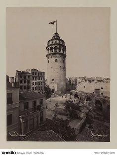 Tower Of Galata, Greeting Card by MotionAge Designs Places Around The World, Around The Worlds, Old Egypt, Back In Time, Historical Pictures, Istanbul Turkey, Old City, West Africa, Empire State Building
