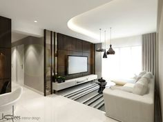 Ideas living room tv wall color woods for 2019 Living Room Tv Wall, Trendy Living Rooms, Living Room Tv, Living Design, Living Room Designs, White Wood Floors, Interior Design, House Interior, Beautiful Living Rooms Decor