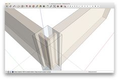 Long-time SketchUp user and teacher, David Heim, shares his top 6 SketchUp tips for beginners. Learn more about beginning with Sketchup and start creating! Woodworking Magazine, Fine Woodworking, Woodworking Projects, Sketchup Pro, Google Sketchup, Magazine Editor, Book And Magazine, Great Videos, Wood Crafts