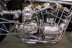 '65 Harley Ironhead – Hazan Motorworks   Pipeburn.com
