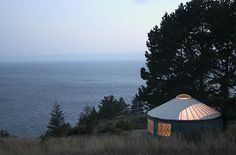 Staying in a YURT in Big Sur! Must make this happen.