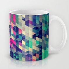 Atym mugs by Spires - I hope the company that manufactured these mugs gave a cut to the artist... Urban Outfitters wasn't so nice when they sold a bodycon skirt with same pattern...