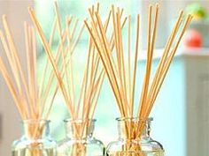 Replacing Your Artificial Fragrances with Homemade Reed Diffusers