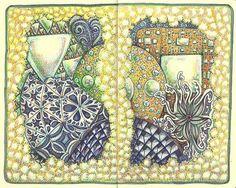 Alchemist's Laboratory by molossus, who says Life Imitates Doodles, via Flickr aka Sandra Strait