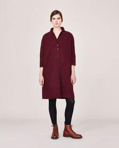Women's Berry Elvire Shirt Dress | OASbyTOAST