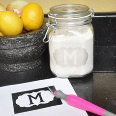 Create beautiful etched glass jars and vases using this DIY project tutorial.
