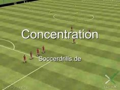Übungsablauf Concentration - Passen - Fußballtraining auf Soccerdrills.de - YouTube Soccer Passing Drills, Football Drills, Soccer Trainer, Kids Soccer, Kara, Sports, Youtube, Soccer Workouts, Circuits