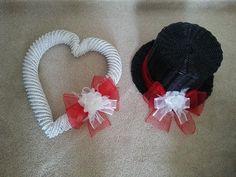 Svatební dekorace na auto Crochet Earrings, Jewelry, Jewlery, Jewerly, Schmuck, Jewels, Jewelery, Fine Jewelry, Jewel