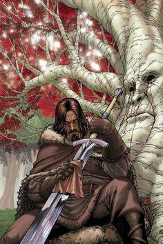 Ned Stark - Game of Thrones - Mike S. Miller