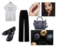 In the spirit of Halloween: Meow! by slizausaba on Polyvore featuring T By Alexander Wang