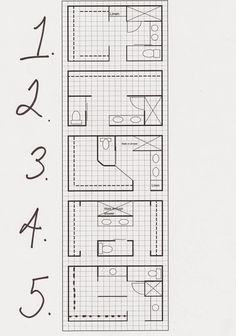 looking for a bathroom layout? - katrina chambers | lifestyle