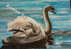 A5 size painting £35 + postage Art Paintings For Sale, A5, Bird, Artwork, Animals, Work Of Art, Animaux, Animales, Birds