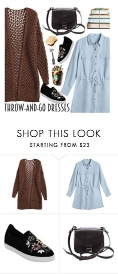 """Easy Outfitting: Throw-and-Go Dresses"" by zaful ❤ liked on Polyvore featuring Proenza Schouler"