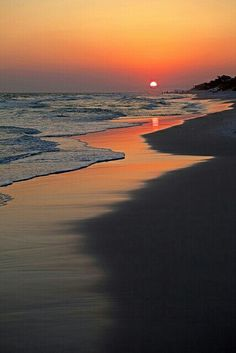 Sunset #beach