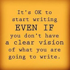 I have had some remarkable stories spin out of starting a story this way. Follow your character down a blind alley or into a mall and see where it takes you. Remember, there is no right or wrong way to tell your story. Tell it your way, especially the first draft. You can always tweak in edits and later drafts.