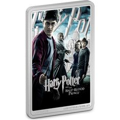 This unique memento celebrates the sixth HARRY POTTER™ movie, Harry Potter and The Half-Blood Prince™. This replica movie poster coin features a combination of colour and engraving – allowing the silver to shine out from the dark and moody design. It includes heroes Harry, Ron, Hermione and, of course for this movie, Dumbledore. Acrylic Display Case, Effigy, Half Blood, Hermione, Silver Coins, The Fool, The Darkest, Harry Potter, Colour