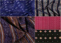 ✰ Sambalpuri Ikat Handloom Cotton Fabrics ✰