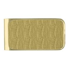 Brushed Rose Gold Gold Finish Money Clip