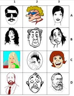 Adjectives exercise on peoples appearance