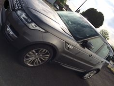 The Range Rover Sport HSE Auto in Corris Grey we delivered #carleasing