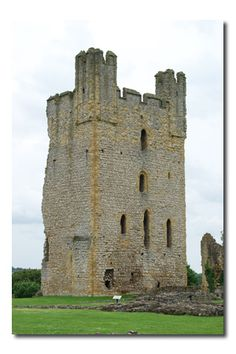 Helmsley Castle - North Yorkshire England