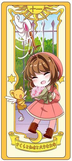 Sakura, Kero y la carta del escudo