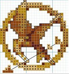 Hunger Games Cross Stitch