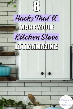 If you need to clean your kitchen stove top, then check out these tips on cleaning stove tops. They're simple home hacks anyone can try! #Macarons&Mochas #StoveTop #CleanStoveTop Cleaning Stove, House Cleaning Tips, Cleaning Hacks, Kitchen Stove Top, Clean Stove Top, Simple House, Clean House, Home Hacks, Macarons
