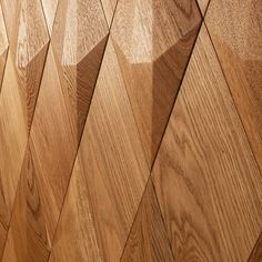 Form at wood | Diamond Wooden Wall Panels, Wooden Walls, Table Lamp, Curtains, Diamond, 3d, House, Home Decor, Wood Walls