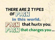 2 Types Of Pain