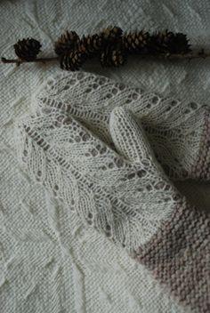 Undiin by Kristi Everst - interesting knitting idea of layering lace