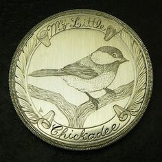 Amy Armstrong - My Little Chickadee Love Token