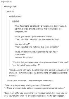 Tumblr | Vampires | Humour Human turning into vampire