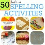 50 Hands-On Spelling Activities for Phonics and Sight Words - This Reading Mama These are some great ideas for practicing spelling words at home. Spelling Practice, Grade Spelling, Spelling Activities, Literacy Activities, Activities For Kids, Spelling Ideas, Spelling Worksheets, Spelling Games For Kids, Spelling Rules